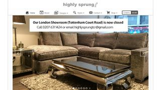Highly Sprung Sofas